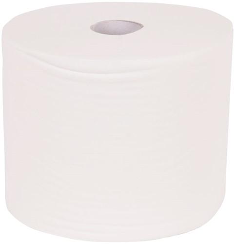 Maxi rol Cellulose tissue 1-laags (23cmx1000m) 2 stuks