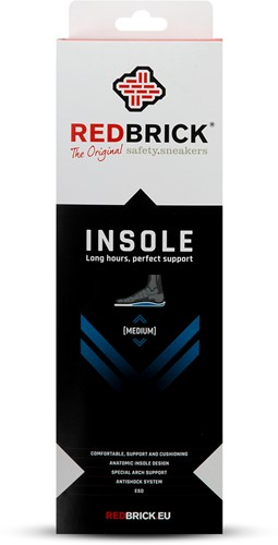 Redbrick inlegzool Medium - 42