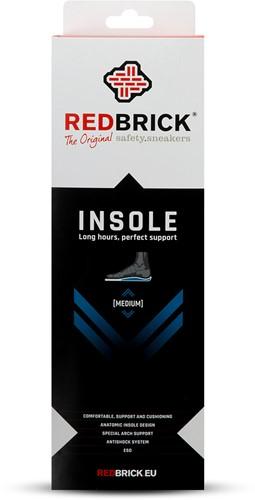 Redbrick inlegzool Medium - 43